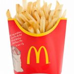 マクドナルド フライポテトのカロリー比較