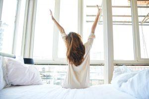 早起き 目覚め