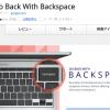Back Spaceで前の画面に戻るGoogle Chrome拡張機能